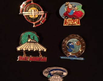 Tomorrowland Pin Set