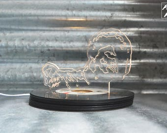 James Brown Hologram lamp