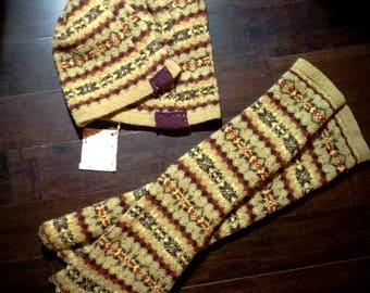 Wool legwarmers - size S
