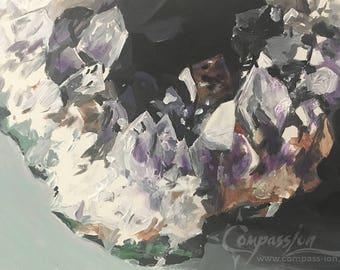 180210 Amethyst Geode