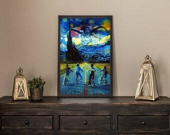 Stranger Things Van Gogh Limited Artwork