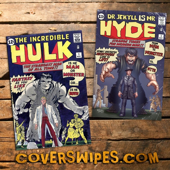 Jekyll & Hyde No.1 Cover Swipes Exclusive