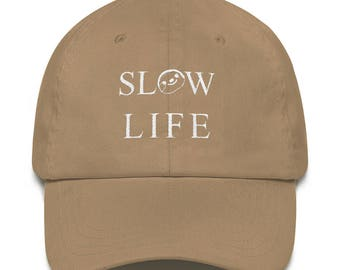 SLOTH Slow Life Hat (+ Colors) - Embroidered - Live The Slow Life
