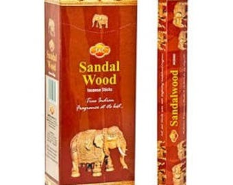 Incense Sandalvood SAC 120 Rods/6 by 20 Uni