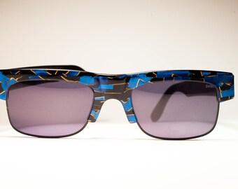 ALAIN MIKLI  Paris Hand Made AM 88/621/898 80s men's original vintage sunglasses