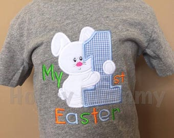 Personalized 1st Easter Bunny Outfit