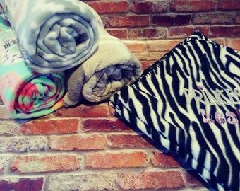 Personalized Fleece Blankets
