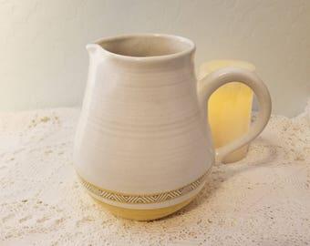 Fransiscan Earthenware pitcher