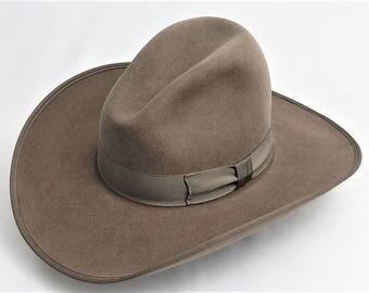 8X Fur Felt Western Cowboy Hat with Gus Crease