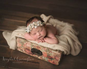 Vintage Print Drawers Photography Prop