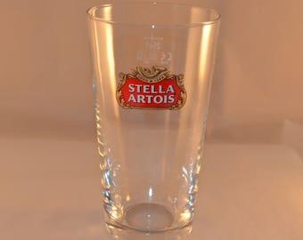 12x, Stella Artois Beer Belgian Glasses, Vintage