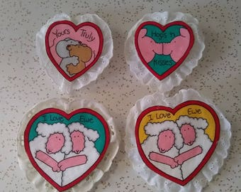 Handmade Pins for Valentines Day