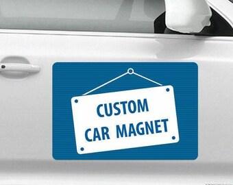 Custom Personalized Car Door Magnet