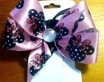 Minnie Mouse 6 inch Hair Bow