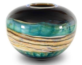 Strata Series Small Cobalt Sphere