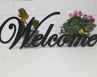 Welcome Metal Sign Metal wall art