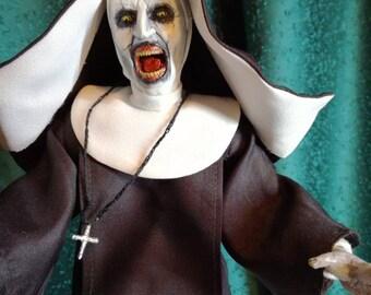 The nun (demon Valak) figure the conjuring 2 handmade