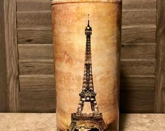 Large Designer Disinfectant Jar - Paris