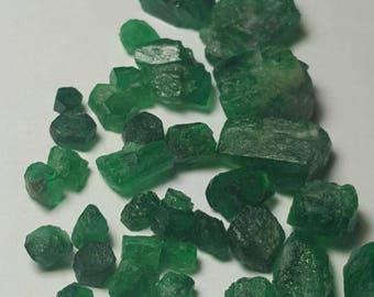 63 carats Top quality facet rough emerald lot swat origin