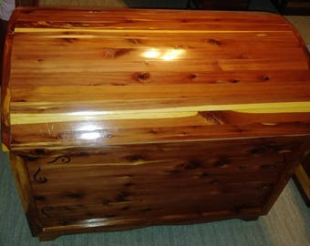Large Red Cedar Chest