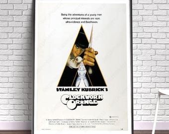 A Clockwork Orange - Film, Movie, Poster