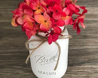 Mason Jar Flower Decor