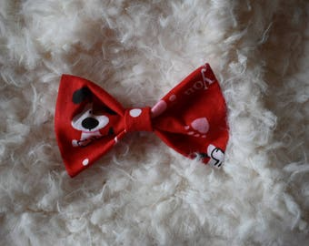 Dog Bow Tie for American Heart Association