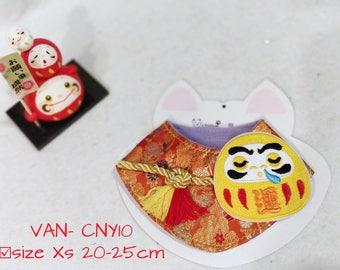 Handmade Chinese New Year Pet Bandanas