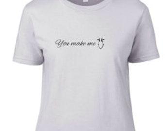 You make me smile / I'm not deaf