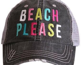 Vintage Trucker Cap - Beach