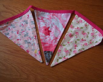 Floral Bunting (pink)