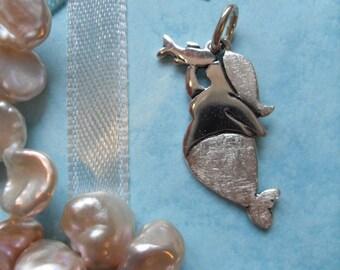 Mermaid pendant, 925 sterling silver Molly Mermaid 1, Fish, manga, kiss, Sea, Ocean, lake