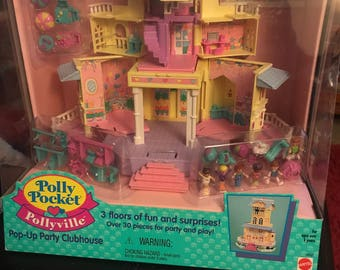 Polly Pocket Pop Up Clubhouse