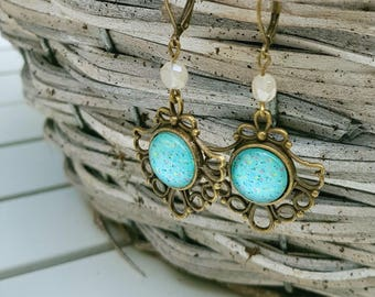 Handmade Earrings Victorian
