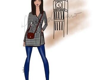 The Big Ben girl