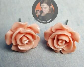 "Earrings ""Rose"""