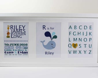 New Born Personalised Frame