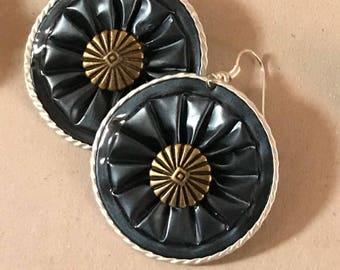 Nespresso Cowboy earrings