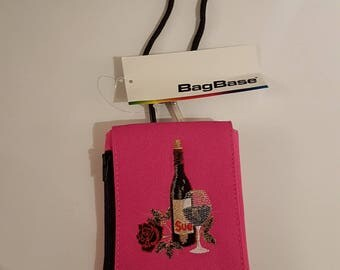 Phone Pouch  Custom embroidered fits all phones