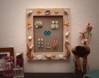 Handmade Hanging Jewelry Holder