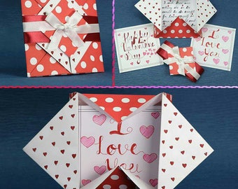 Valentines Day Card Love Card Anniversary Card Greeting Card