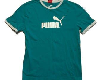 Puma T shirt 90s Vintage - Sz S