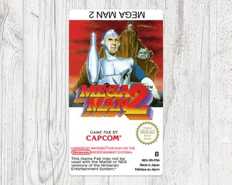 NES label: Mega Man 2 [FRA - B