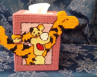 Handmade 'Winne the Pooh' Character Tissue box covers -Tigger