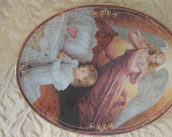 Bradford Exchange bedtime prayers collectors plate