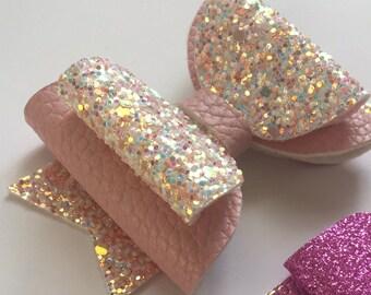 Rainbow & glitter set