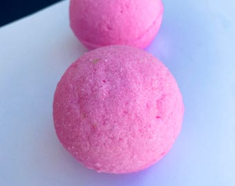 Strawberry Melon Bath Bombs