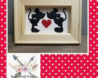 Mickey and Minnie Canvas