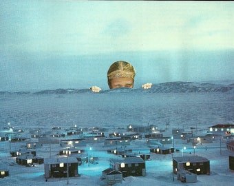 The LookOut - Original analog collage