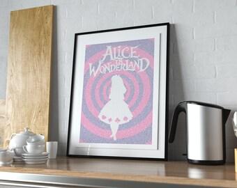 Alice In Wonderland - Book Poster
